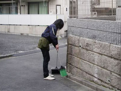 マンション日常清掃
